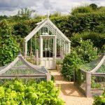 The Hidcote in einem Potager Garden.