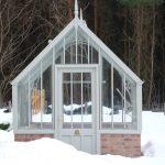 Zauberhaft im Schnee - das Capel Gewächshaus.