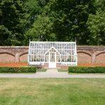 Crane Greenhouse aus der Kew Collection im Garten von Schloss Dyck.