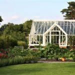 Das Fortrey im neu angelegten Garten.