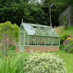 Das Aiton Greenhouse im Farbton 'Sussex Emerald'.
