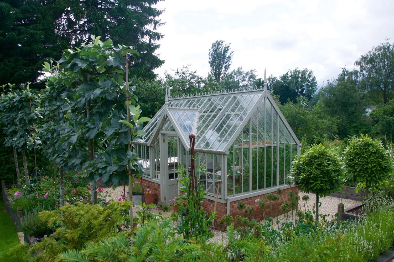 Ein neuer Garten für das Chambers Gewächshaus.