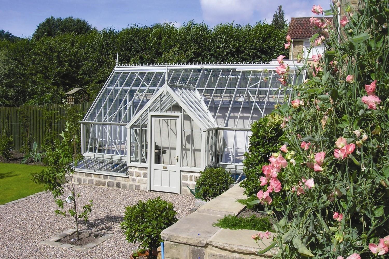 Das Cheriton ist das perfekte Gewächshaus für diesen Walled Garden.