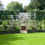 Design & Style passen - Garten mit einem Chambers Greenhouse.