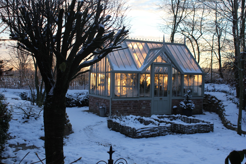 Gibt dem Garten im Winter Struktur - The Chambers.