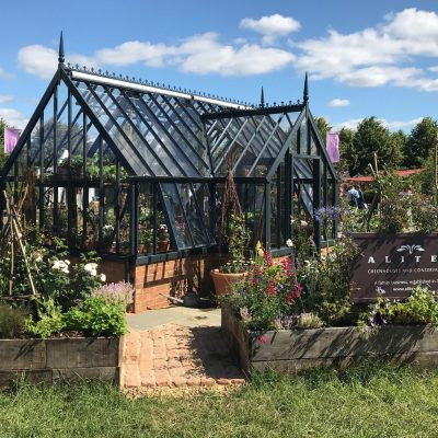 Alitex auf dem Hampton Court Flower Festival 2019