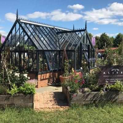 Alitex auf dem Hampton Court Flower Festival 2019