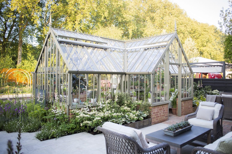 Das Masson Greenhouse auf der Chelsea Flower Show 2018.