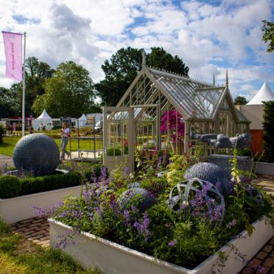 Alitex auf dem Hampton Court Flower Festival 2021